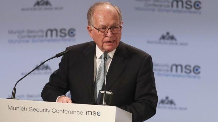Münih Güvenlik Konferansı Başkanı Wolfgang Ischinger