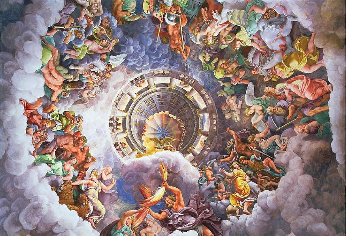 Gods of Olympus, 1534-35 Giulion Romano