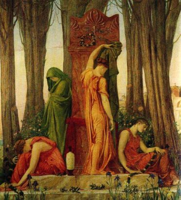 electra-in-the-memory-of-agamemnon-sir-william-blake-richmond-british-1842-1921